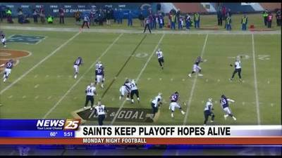 News video: Saints Take the Lead in NFC South After Win Against Bears